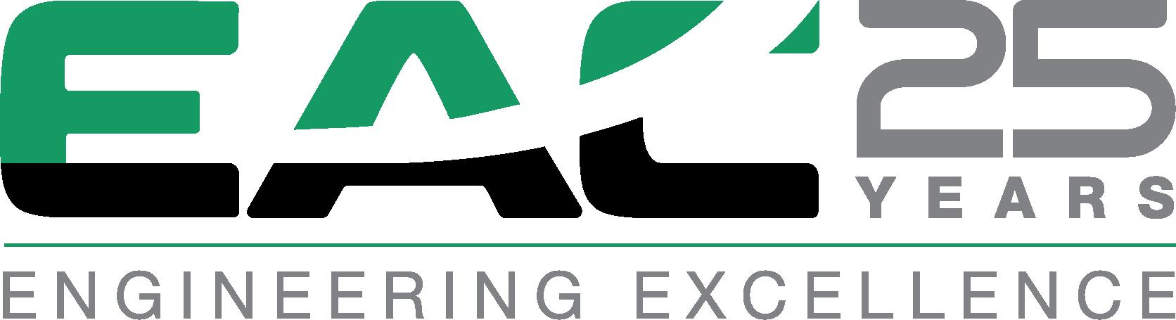 EAC 25 year logo
